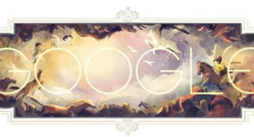 318esimo anniversario della nascita di Giambattista Tiepolo, esponente del Rococò